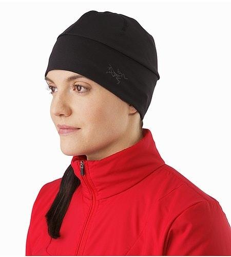 Bonnet Phase AR Noir Vue de face