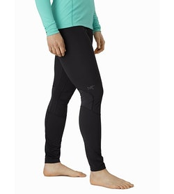 Phase AR Bottom Women's Black Front View