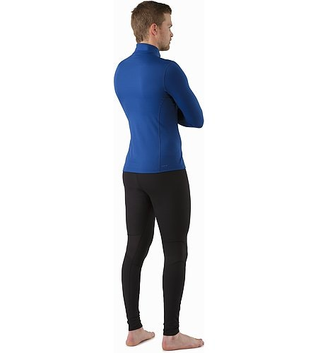 Phase AR Zip Neck LS Neck Triton Back View