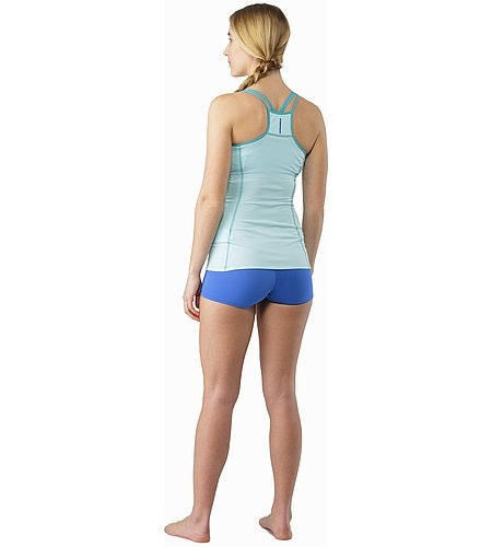 Phase SL Boxer Women's Island Blue Back View