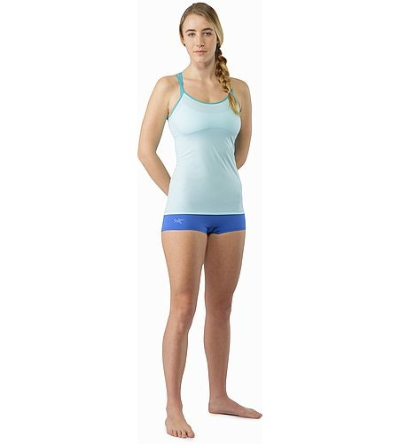Phase SL Boxer Women's Island Blue Front View