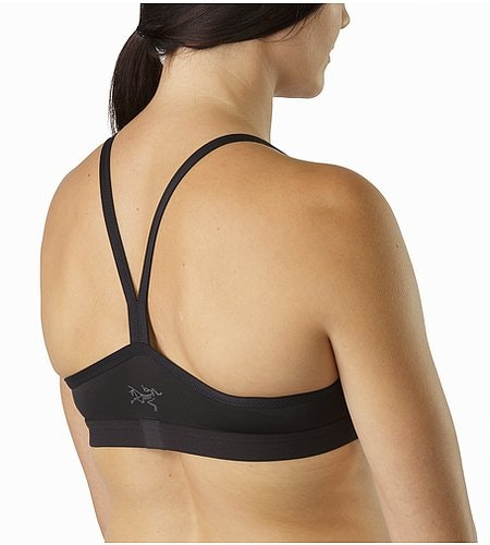 Phase SL Bra Women's Black Back View