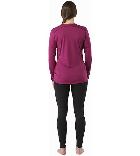 Phase SL Crew LS Women's Lt Chandra Back View