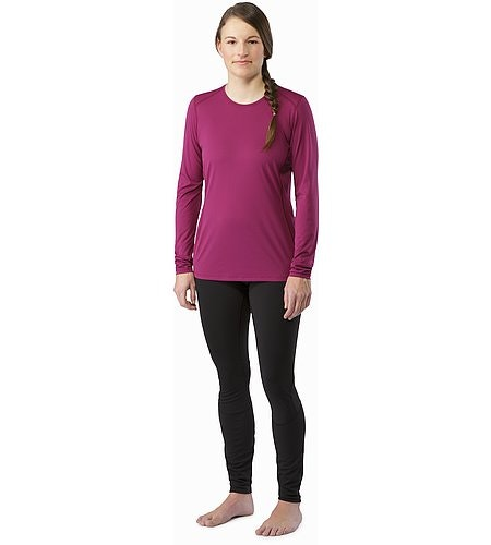 Phase SL Crew LS Women's Lt Chandra Front View