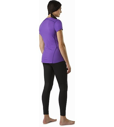Phase SL Crew SS Women's Mauveine Back View