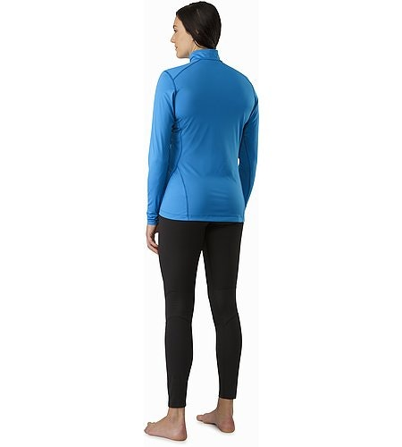 Phase SL Zip Neck LS Women's Macaw Back View