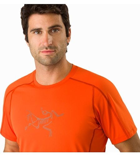 Phasic Evolution Crew Neck Shirt SS Trail Blaze Neckline