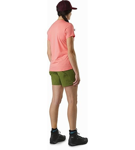 Phasic Evolution Crew SS Women's Lamium Pink Back View