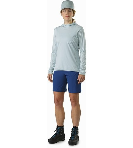 Phasic Sun Hoody Women's Petrikor Front View