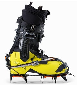 Procline Carbon Boot Black Liken With Crampons