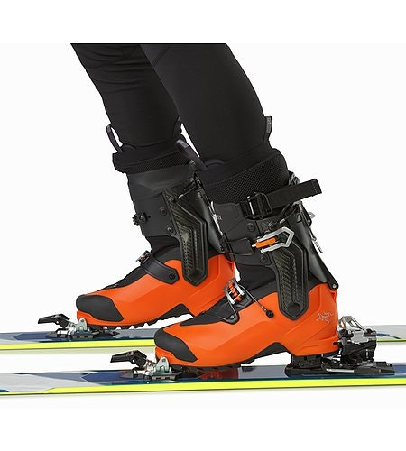 Procline Carbon Lite Boot Cayenne Ski Mode