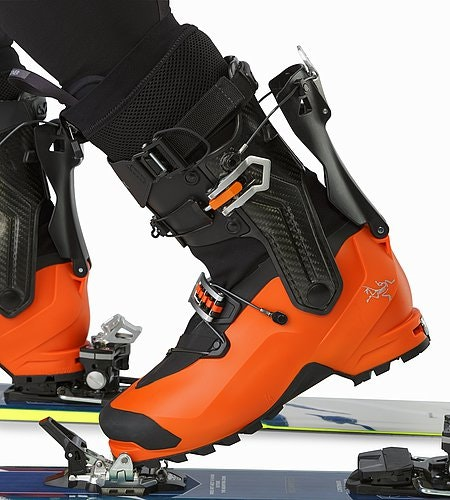 Procline Carbon Lite Boot Cayenne Walk Mode Detail