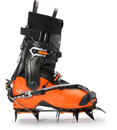 Procline Carbon Lite Boot Cayenne With Crampons