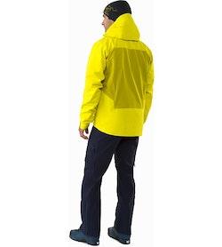 Procline Comp Jacket Lichen Back View