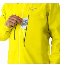 Procline Comp Jacket Lichen Chest Pocket
