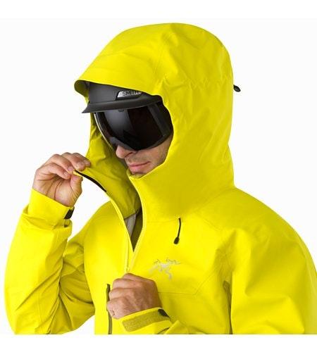 Procline Comp Jacket Lichen Helmet Compatible Hood