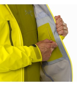 Procline Comp Jacket Lichen Internal Security Pocket