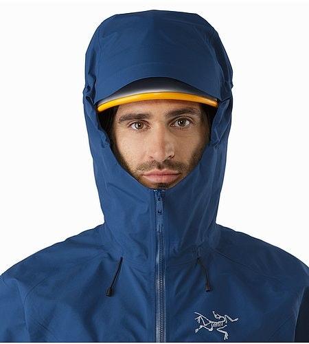 Procline Comp Jacket Triton Helmet Compatible Hood Front View