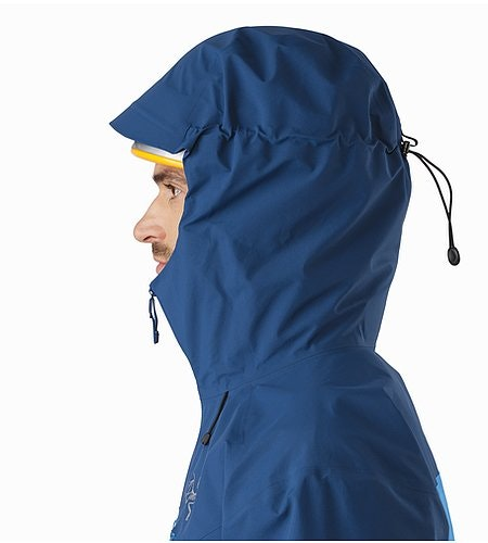 Procline Comp Jacket Triton Helmet Compatible Hood Side View