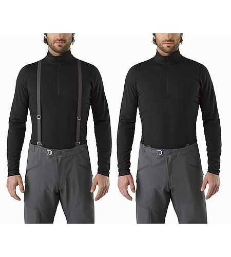 Procline FL Pant Smoke Suspenders On Off