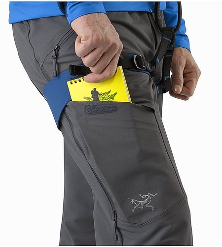 Procline FL Pant Smoke Thigh Pocket
