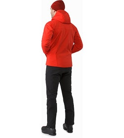 Proton AR Hoody Cardinal Back View