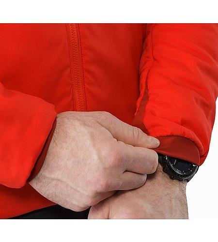 Proton AR Veste à capuche Cardinal Poignet