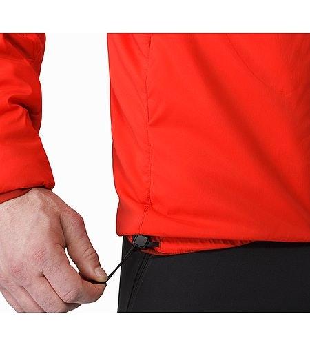 Proton AR Veste à capuche Cardinal Cordon de serrage sur l'ourlet