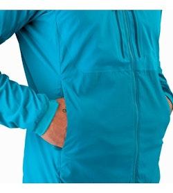 Proton FL Hoody Firoza Hand Pocket