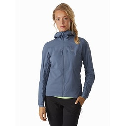 Proton FL Hoody Women's Stratosphere Front View