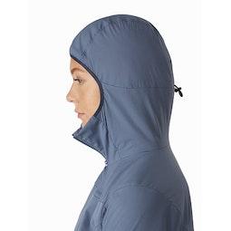 Proton FL Hoody Women's Stratosphere Hood Side View