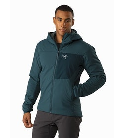 Proton LT Hoody Labyrinth Front View