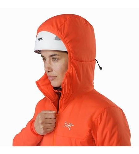 Proton LT Hoody Women's Aurora Helmet Compatible Hood