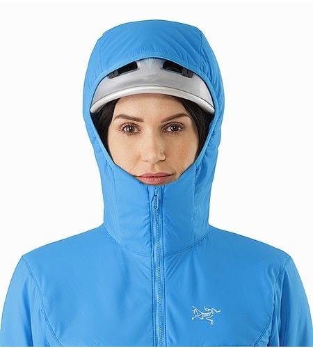 Proton LT Hoody Women's Baja Helmet Compatible Hood Front View