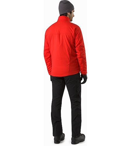 Proton LT Jacket Cardinal Back View