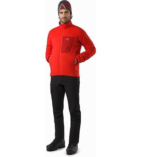 Proton LT Jacket Cardinal Front View