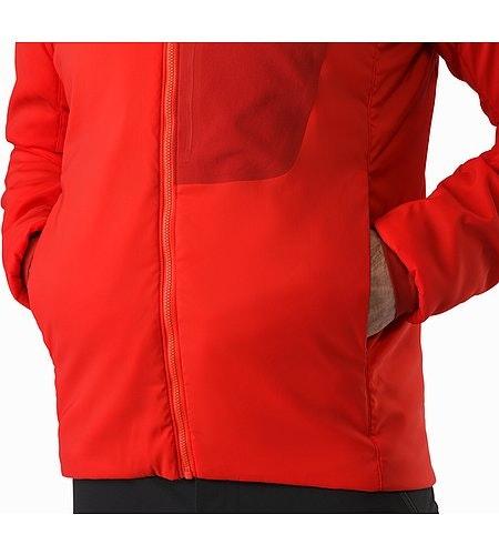 Proton LT Jacket Cardinal Hand Pocket