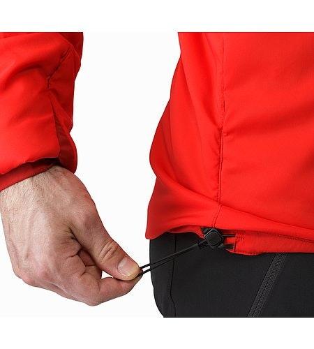 Proton LT Jacket Cardinal Hem Adjuster