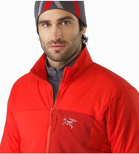 Proton LT Jacket Cardinal Open Collar