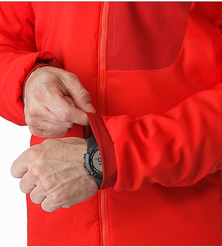 Proton LT Jacket Cardinal Stretch Cuffs