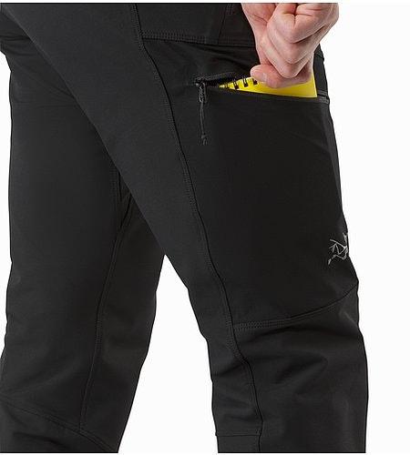Psiphon AR Pant Black Oberschenkeltasche