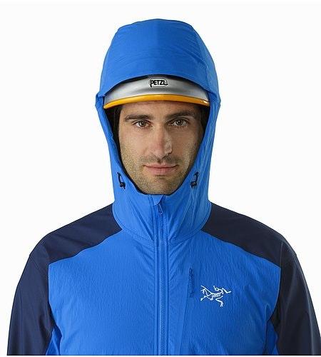 Psiphon FL Hoody Rigel Helmet Compatible Hood Front View
