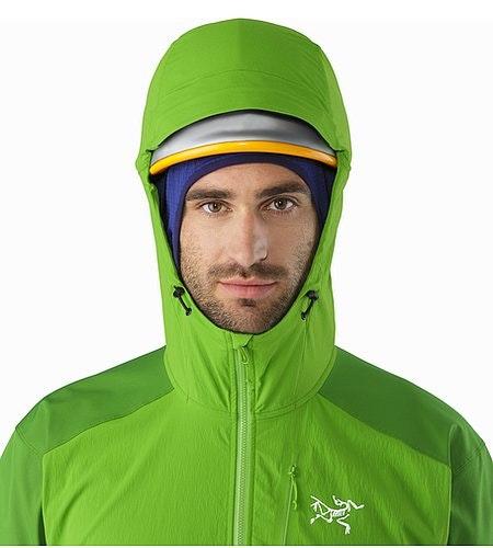Psiphon FL Hoody Rohdei Helmet Compatible Hood Front View