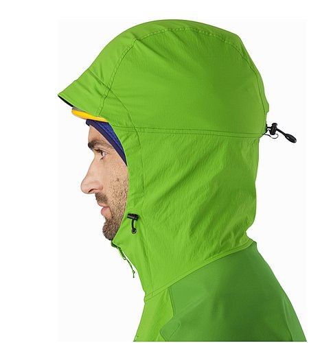 Psiphon FL Hoody Rohdei Helmet Compatible Hood Side View