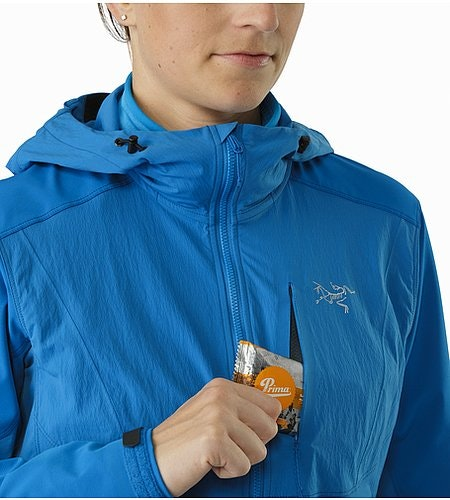 Psiphon FL Hoody Women's Macaw Chest Pocket