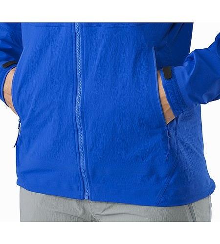 Psiphon FL Hoody Women's Somerset Blue Hand Pockets