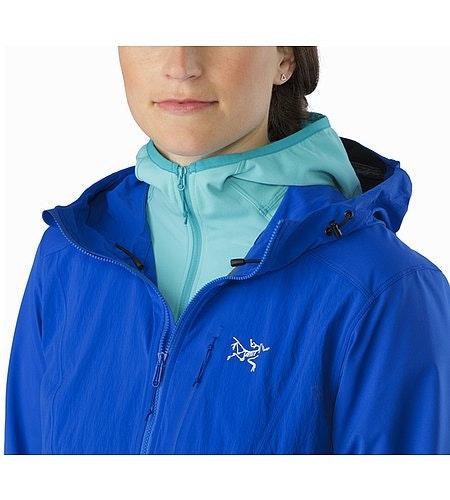 Psiphon FL Hoody Women's Somerset Blue Open Collar