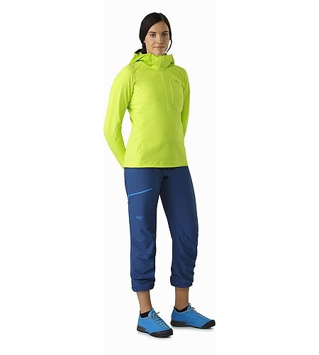 Psiphon SL Pant Women's Poseidon Front View Cinched On Calf 2