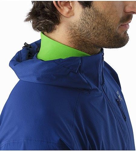 Psiphon SL Pullover Corvo Blue Stowed Hood