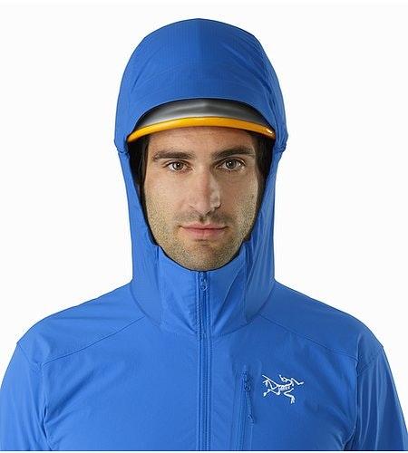 Psiphon SL Pullover Rigel Helmet Compatible Hood Front View